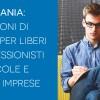 Campania: 17 milioni di euro per liberi professionisti e piccole e medie imprese.