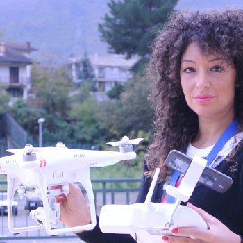 Primo volo con DRONE dji Phantom Vision 2 +