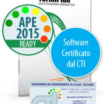 TermiPlan Software Certificato dal CTI alle UNI/TS 11300:2014