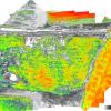 NDVI Campo Avena DRONE per Agricoltura di Precisione