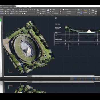 Analist CLOUD ti consente di lavorare con grande velocità e precisione direttamente sulla tua Nuvola di Punti.