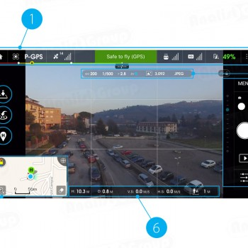 App DJI Go per Phantom 3 Professional