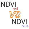 NDVI red VS Ndvi blue
