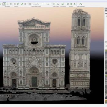 Rilievo facciata Santa Maria del Fiore - Firenze
