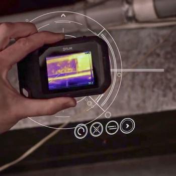Termocamera radiometrica FLIR C3