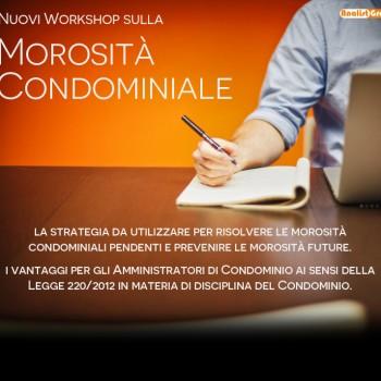 Workshop Morosità Condominio