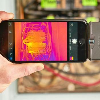 FLIR ONE ispezioni termografiche con il tuo telefonino