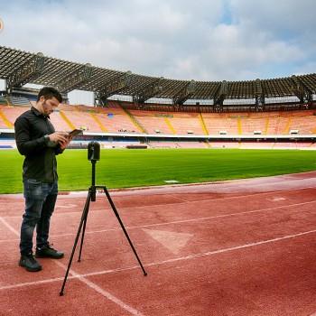 Rilievo 3D Stadio San Paolo di Napoli con Laser Scanner Leica BLK360