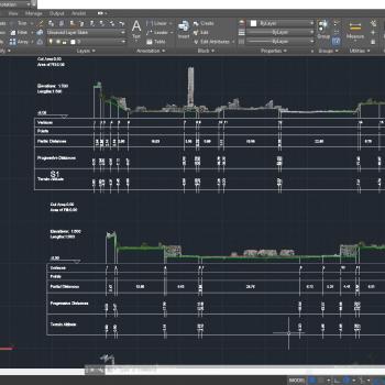 Sezione Topografica Analist Software Topografia
