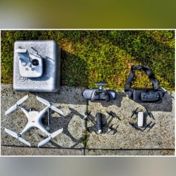 DRONE-PARROT-ANAFI-DJI-PAHANTOM4-DJI SPARK